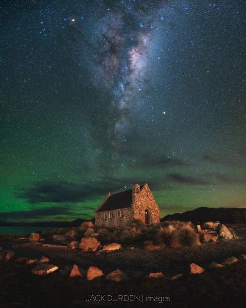 Church Of The Good Shepherd Milky Way