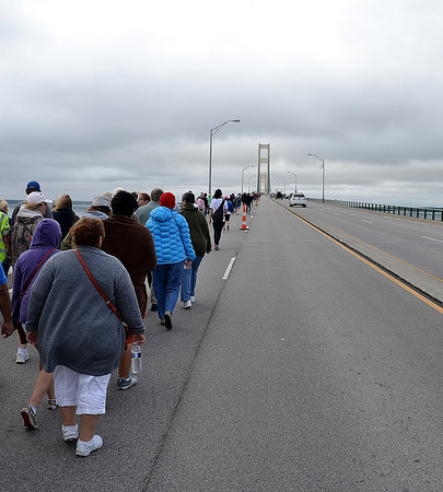 Mackinac Bridge Walk 2013