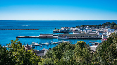 Mackinac Island  - General views around island