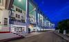 The Grand Hotel night .  Mackinac Island Michigan.