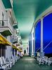 The Grand Hotel at Night.  Mackinac Island Michigan.