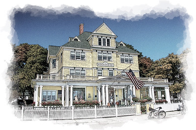 Mackinac Island Sketch & Ink Drawings