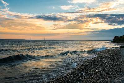 Mackinac Island -yesterday's sunset. #Macinac Island #Mackinac