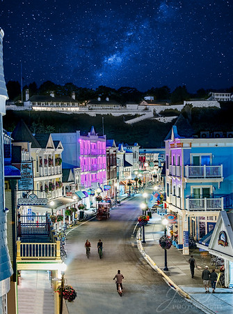 Mackinac Island at Night - A Rare Perspective