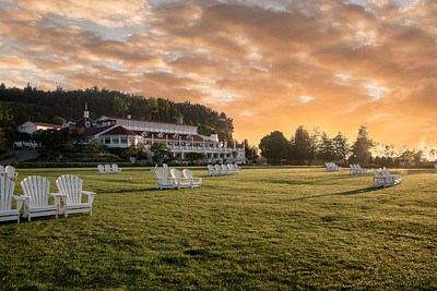 Sunrise on Mackinac Island - Mission Point Area