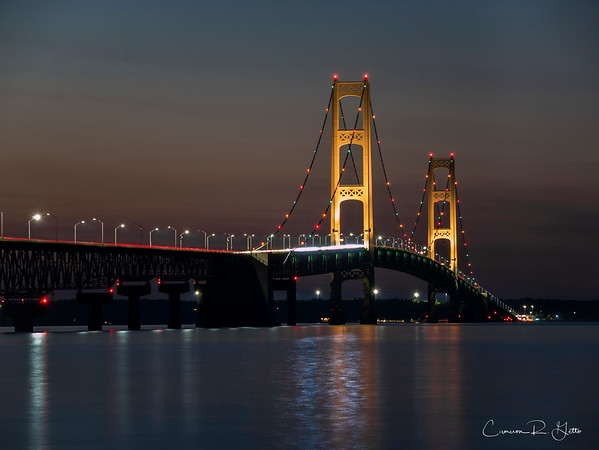 Mackinaw City and Mackinac Bridge