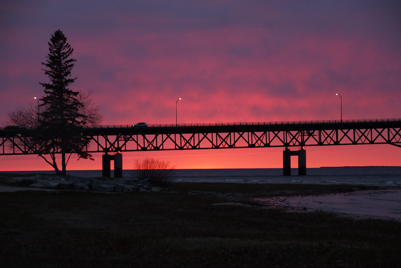 Mackinaw Sunset