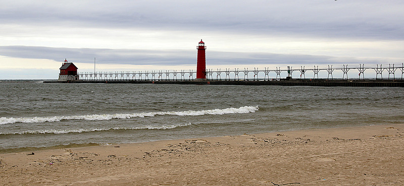 Grand Haven Lighthouse and Pier