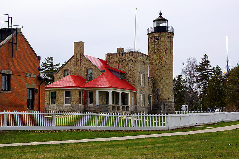 The Old Mackinaw Lighthouse