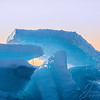 The blue ice in all its glory when the light is just right in their pre-sunrise image. The light passes through it and comes out yielding its characters blue color. These slabs are 12-18 inches thick.  #Michigan #MackinacIsland #Mackinac #PureMichigan #MichiganAwesome #MliveNews #landscapephotography #puremichigan #mackinaw #upnorth #greatlakes #puremittenpride #natgeotravel #travelandleisure #travelawesome #greatlakesproud #mynorthmoments #mackinawcity #mackinawchamber #mackinacbridge #mightymac #sunrise #blueice #greatlakeslocals #macinacisle #mackinawcitymi #mackinawcity #michigansun