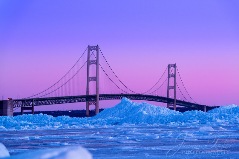 A diferent vantage point of one of the mountains of ice over 100 yards out before sunrise of Mackinac Bridge. It was astucally twilight & semi-dark when I took this.  #Michigan #MackinacIsland #Mackinac #PureMichigan #MichiganAwesome #MliveNews #landscapephotography #puremichigan #mackinaw #upnorth #greatlakes #puremittenpride #natgeotravel #travelandleisure #travelawesome #greatlakesproud #mynorthmoments #mackinawcity #mackinawchamber #mackinacbridge #mightymac #sunrise #blueice #greatlakeslocals #mackinacisle #mackinawcitymi #mackinawcity #michigansun