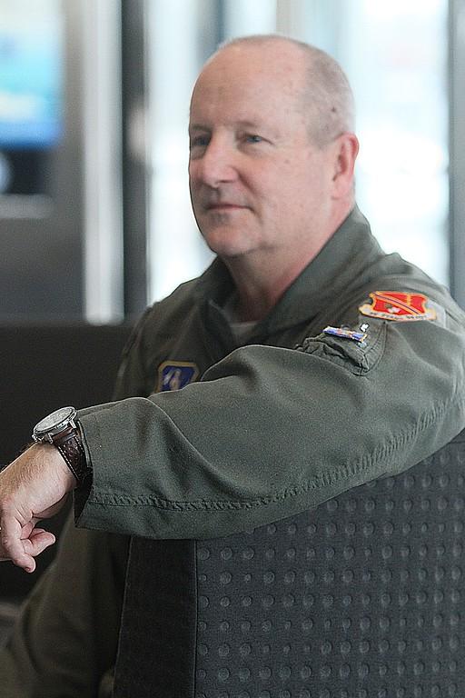 . Gen. John D Slocum represented Selfridge Air National Guard Base.
