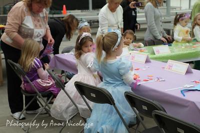 Princesses Arrive in Macomb Township