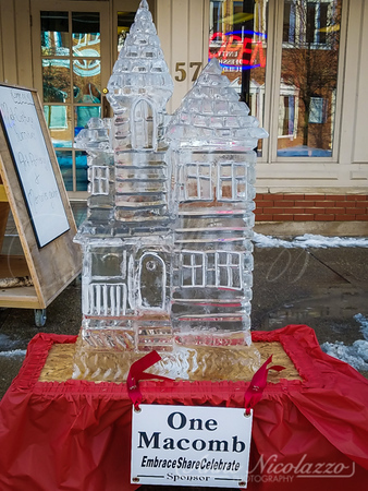 14th Annual Downtown Mount Clemens Ice Carving Show