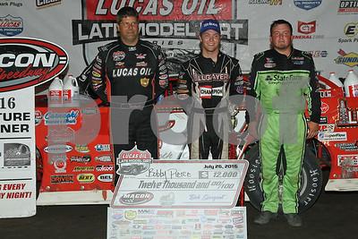 Macon Speedway Lucas Oil'16