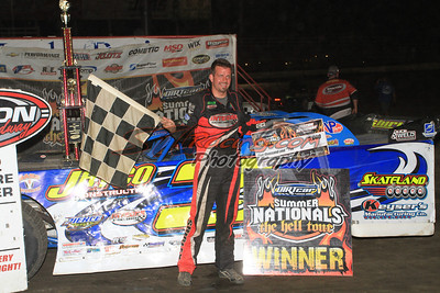 Shirley Fights to Macon Speedway DIRTcar Summer Nationals Triumph
