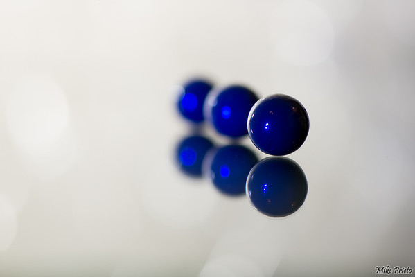 Reflected Spheres:  Blue 1