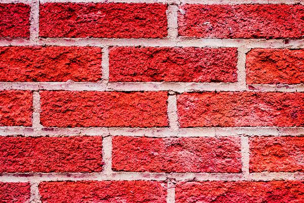 Full Frame Red Brick Wall