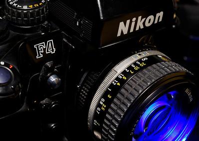 Nikon F4 35mm Film Camera