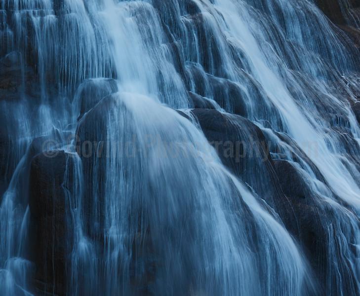 Gibbon Falls Abstract