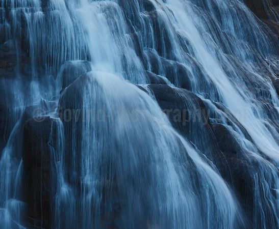 Gibbon Falls Abstract