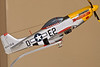 1/48 Scale Model of P-51D Mustang ( A gift from Santy)