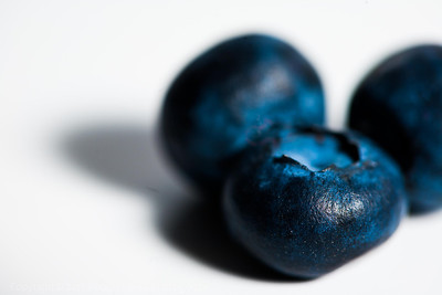 Blue Berry Closeup