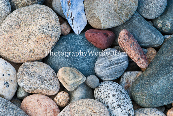 Maine Beach Pebbles
