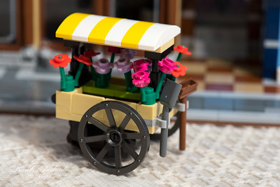 Lego Flower Cart
