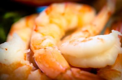 Pile o' shrimp