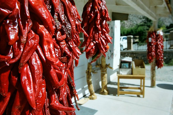 Chimayo Ristras-Peppers