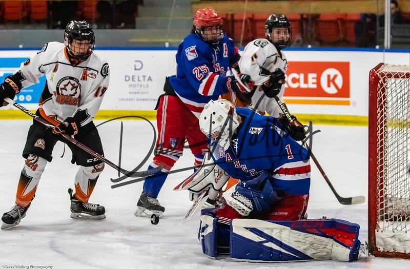 Game #11 Saskatoon Contacts vs Fort Saskatchewan Boston Pizza Rangers
