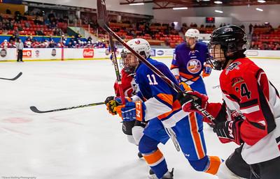 Game #15 Airdrie CFR Bisons vs New York Jr Islanders