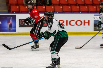 Game #17 Rocky Mountain RoughRiders vs	Okanagan Rockets