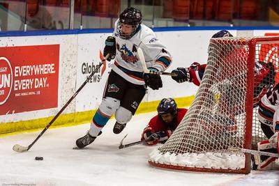 Game #32 Cariboo Cougars at Lethbridge Hurricannes