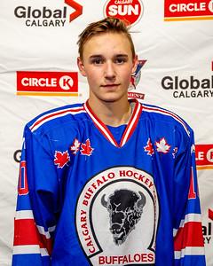 Calgary Buffaloes F, Daniel Kernaghan #10
