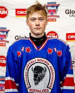 Calgary Buffaloes F, Kellan Hjartarson #11