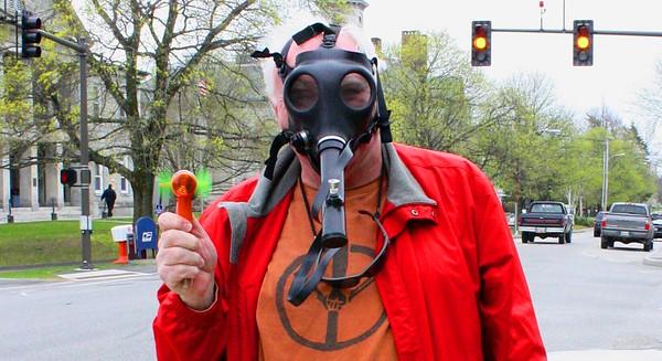 10.04.23 Mad Dog with Maine Medical Marijuana Mask