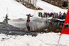 Mad River Glen - 1st Annual Pond Skim - 4/13/19 -Green Mountains, Vermont, USA<br /> <br /> ©Brian Mohr/ EmberPhoto - All rights reserved