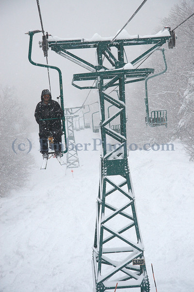 Mad River Glen - Single Chair - Green Mountains, Vermont, USA