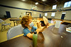 Children participate in the Mad Science Camp that was hosted by the Brattleboro Recreation & Parks Department at the Gibson Aiken Center third floor Gymnasium on Wednesday, July 21, 2021.