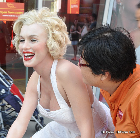 Marilyn Monroe Lives On