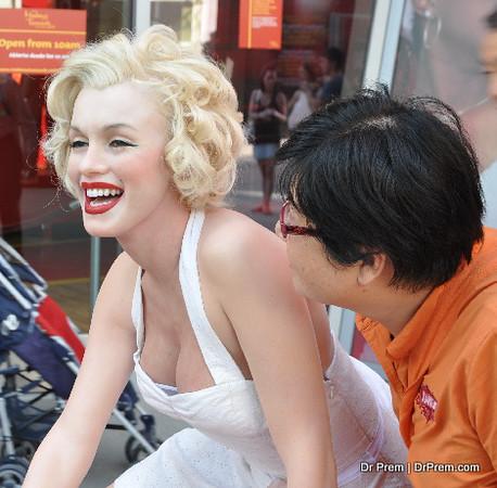 Marilyn Monroe Lives On
