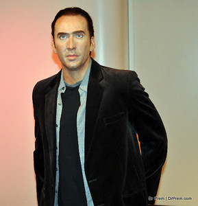 Nicholas Cage - Hollywood's Wax Museum - Madame Tussaud's - A Must Watch in LA