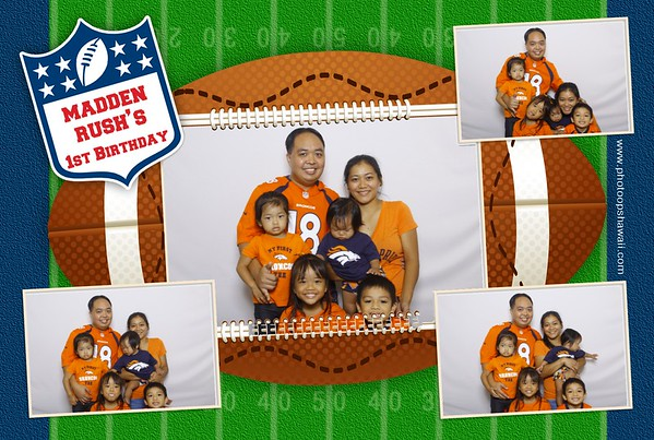 Madden Rush's 1st Birthday (Fusion Photo Booth)