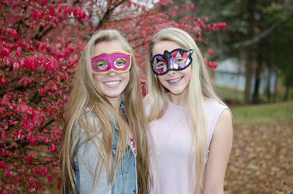 Maddie and Kayl Halloween 2015