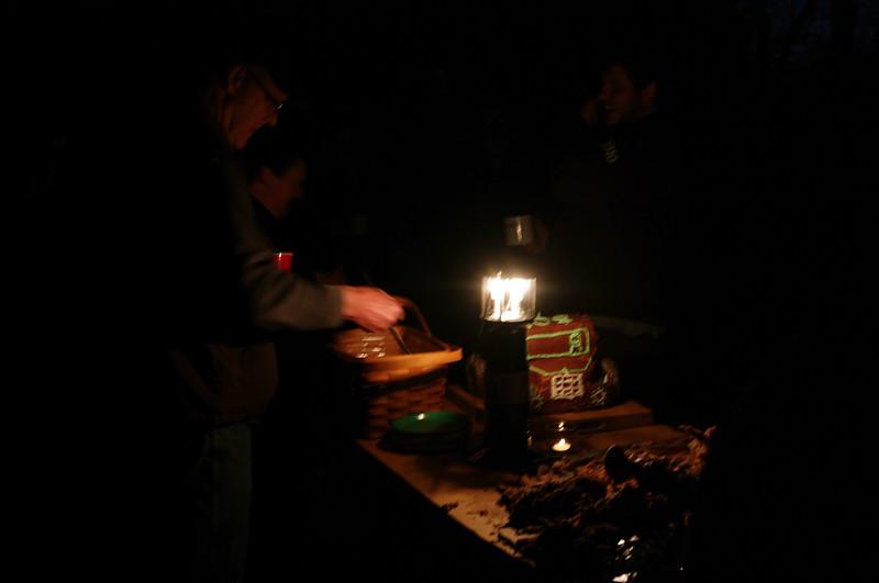 The Birthday Cake under the Light of the Lantern