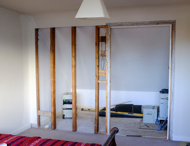 Built-in wardrobes re-model and enlargment