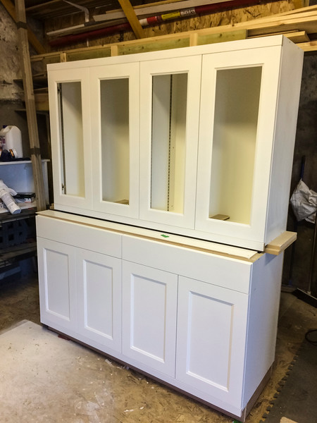 Additional 8 door dresser requested ready for fitting, after supply of previous 6 door dressers