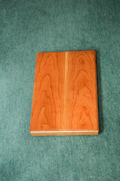 Book presentation box in cherry